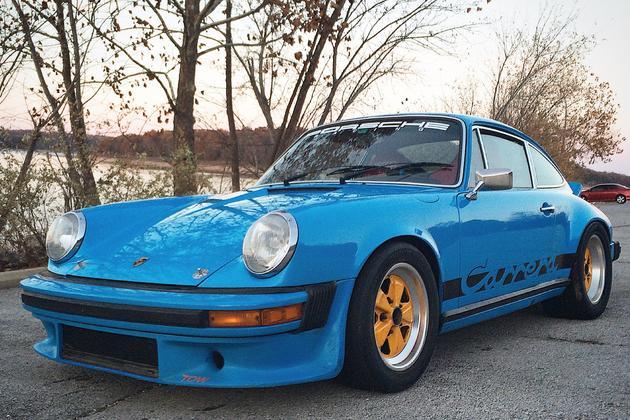1974 mexico blue carrera the 911 den